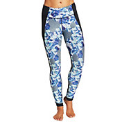 CALIA by Carrie Underwood Women's Plus Size Printed Tulip Hem Leggings