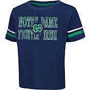 Colosseum Athletics Toddler Notre Dame Fighting Irish Navy Touchdown T-Shirt