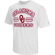 Colosseum Athletics Men's Oklahoma Sooners White Haze T-Shirt