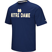 Colosseum Athletics Men's Notre Dame Fighting Irish Navy Pique Performance T-Shirt