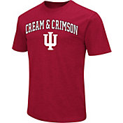 Colosseum Athletics Men's Indiana Hoosiers Crimson Team Slogan T-Shirt