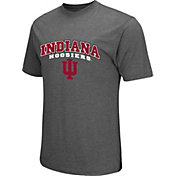 Colosseum Athletics Men's Indiana Hoosiers Grey Classic T-Shirt
