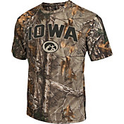 Colosseum Athletics Men's Iowa Hawkeyes Camo Brow Tine T-Shirt