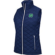 Colosseum Athletics Women's Notre Dame Fighting Irish Navy Elite Quilted Vest