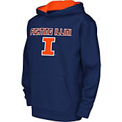 Colosseum Athletics Youth Illinois Fighting Illini Blue Performance Hoodie