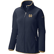 Columbia Women's Notre Dame Fighting Irish Navy Fuller Ridge Fleece Jacket