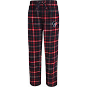 Concepts Sport Men's Houston Texans Ultimate Flannel Navy Pants