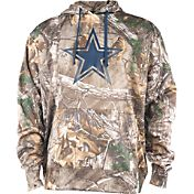 Dallas Cowboys Merchandising Men's Ridgeline Realtree Camouflage Hoodie
