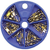 Eagle Claw Brass Snap Swivel Assortment