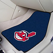 Cleveland Indians Printed Car Mats 2-Pack