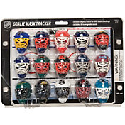 Franklin Mini Goalie Mask Tracker/Standings Board
