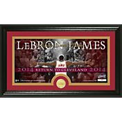 "The Highland Mint Cleveland Cavaliers LeBron James ""Return to Cleveland"" Framed Coin & Photo"
