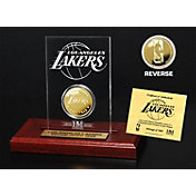 The Highland Mint Los Angeles Lakers Gold Coin Etched Acrylic