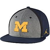 Jordan Men's Michigan Wolverines Blue Sideline True Adjustable Performance Hat