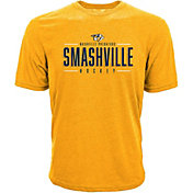 Levelwear Men's Nashville Predators Smashville Gold T-Shirt