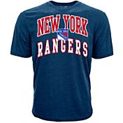 Levelwear Youth New York Rangers Performance Arch Royal T-Shirt