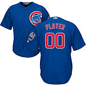 Majestic Men's Full Roster Replica 2016 World Series Champions Chicago Cubs Cool Base Alternate Royal Jersey