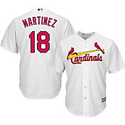 Majestic Men's Replica St. Louis Cardinals Carlos Martinez #18 Cool Base Home White Jersey
