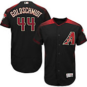 Majestic Men's Authentic Arizona Diamondbacks Paul Goldschmidt #44 Alternate Black Flex Base On-Field Jersey