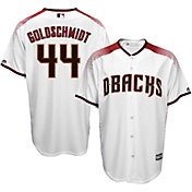 Majestic Men's Replica Arizona Diamondbacks Paul Goldschmidt #44 Cool Base Home White Jersey