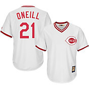 Majestic Men's Replica Cincinnati Reds Paul O'Neill Cool Base White Cooperstown Jersey