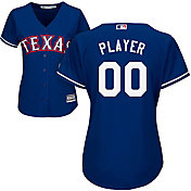 Majestic Women's Full Roster Cool Base Replica Texas Rangers Alternate Royal Jersey