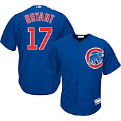 Majestic Youth Replica Chicago Cubs Kris Bryant #17 Cool Base Alternate Royal Jersey