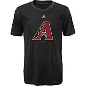 Majestic Youth Arizona Diamondbacks Cool Base Geo Strike Black T-Shirt
