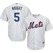 Majestic Youth Replica New York Mets David Wright #5 Cool Base Home White Jersey