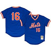 Mitchell & Ness Men's Replica New York Mets Dwight Gooden Royal Cooperstown Batting Practice Jersey