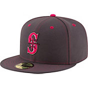 New Era Men's Seattle Mariners 59Fifty 2016 Mother's Day Authentic Hat
