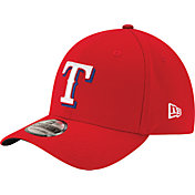 New Era Men's Texas Rangers 39Thirty Classic Red Flex Hat