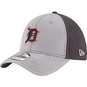 New Era Men's Detroit Tigers 39Thirty Grayed Out Grey Flex Hat