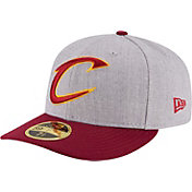 New Era Men's Cleveland Cavaliers 59Fifty Low Crown Grey Fitted Hat