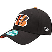 New Era Men's Cincinnati Bengals Black League 9Forty Adjustable Hat