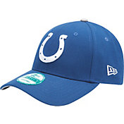 New Era Men's Indianapolis Colts Blue League 9Forty Adjustable Hat