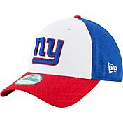 New Era Men's New York Giants Perfect Block White 9Forty Adjustable Hat