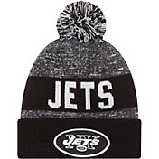 New Era Men's New York Jets Sport Black Knit Beanie