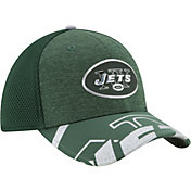 New Era Men's New York Jets 2017 NFL Draft 39Thirty Adjustable Green Hat