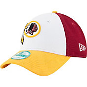 New Era Men's Washington Redskins Perfect Block White 9Forty Adjustable Hat