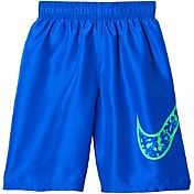 "Nike Boys' Core Swoosh 9"" Volley Shorts"