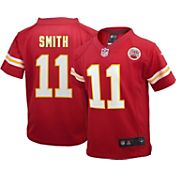 Nike Boys' Home Game Jersey Kansas City Chiefs Alex Smith #11
