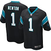 Nike Boys' Home Game Jersey Carolina Panthers Cam Newton #1