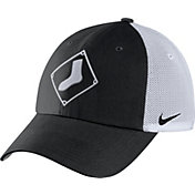 Nike Men's Chicago White Sox Dri-FIT Black/White Heritage 86 Adjustable Hat
