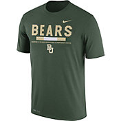Nike Men's Baylor Bears Green Football Staff Legend T-Shirt