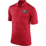 Nike Men's Georgia Bulldogs Red Dry Stadium Polo