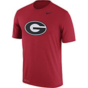 Nike Men's Georgia Bulldogs Red Logo Dry Legend T-Shirt
