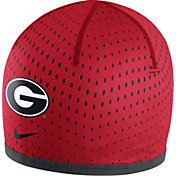 Nike Men's Georgia Bulldogs Red Reversible Training Knit Performance Beanie