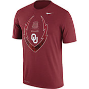 Nike Men's Oklahoma Sooners Crimson Football Icon Legend T-Shirt