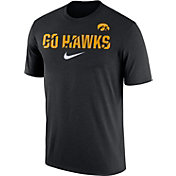 Nike Men's Iowa Hawkeyes Black Ignite Verbiage Legend T-Shirt
